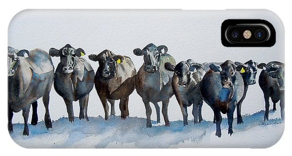 The Angus Eight IPhone Case