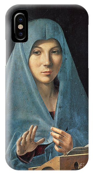 Mary Mother Of God iPhone Case - The Annunciation by Antonello da Messina