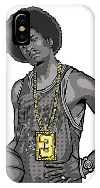 Illustration iPhone Case - The Answer by Miggs The Artist
