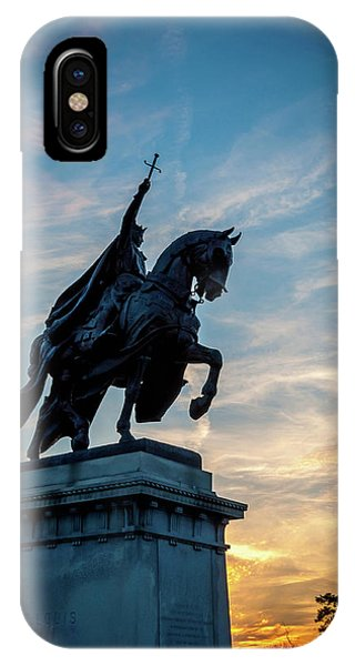 IPhone Case featuring the photograph The Apotheosis Of St. Louis by Matthew Chapman