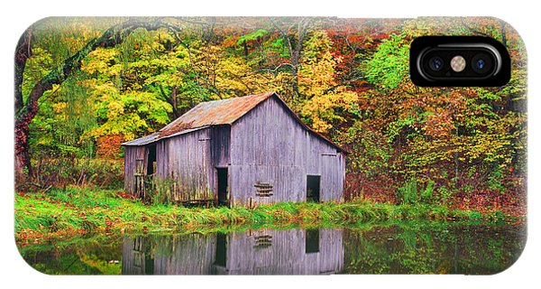 The Appalachian Reflection IPhone Case