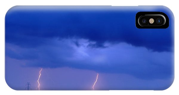 The Approching Storm IPhone Case