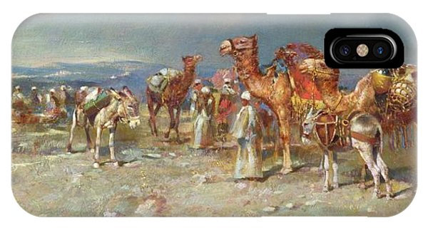 The Arab Caravan   IPhone Case