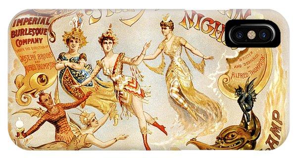 The Arabian Nights Burlesque IPhone Case