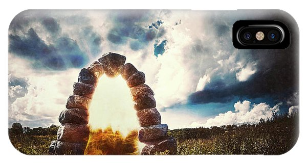 Beam iPhone Case - The Arch On The Edge Of Forever by Scott Norris