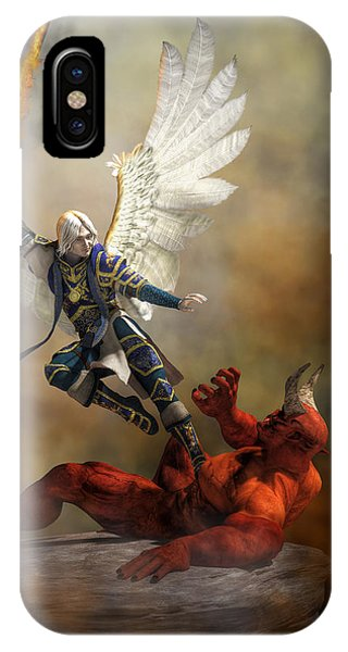 The Archangel Michael IPhone Case