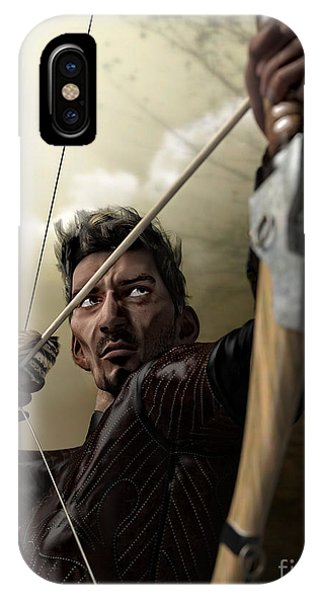 iPhone Case - The Archer by Sandra Bauser Digital Art