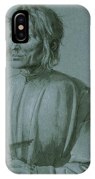 Albrecht Durer iPhone Case - The Architect Hieronymus Von Augsburg by Albrecht Durer