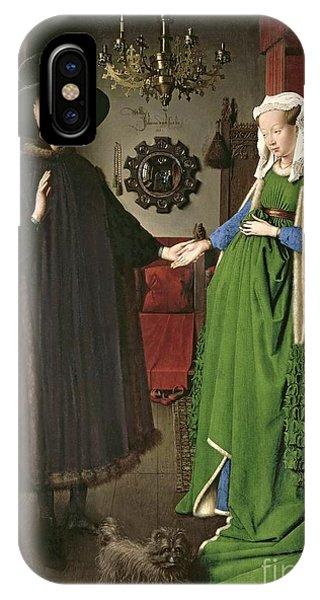 Couple iPhone Case - The Arnolfini Marriage by Jan van Eyck