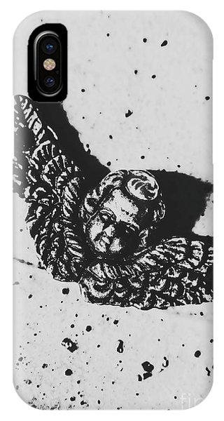 Spirituality iPhone Case - The Art Of A Vintage Angel by Jorgo Photography - Wall Art Gallery