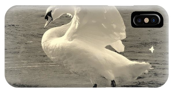 The Art Of The Swan  IPhone Case