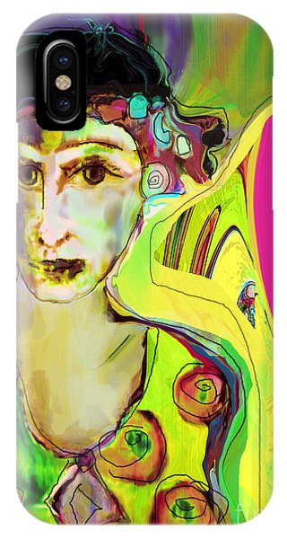 The Artist In Fauve Working Artist IPhone Case
