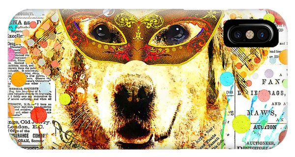 Child Actress iPhone Case - Dog Artist by Stacey Chiew