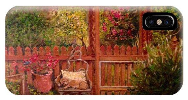 The Artist's Garden IPhone Case