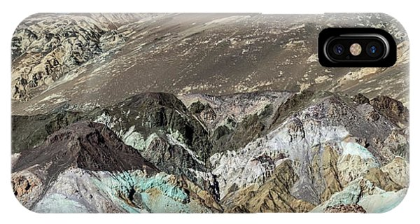 IPhone Case featuring the photograph The Artists Palette Death Valley National Park by Michael Rogers