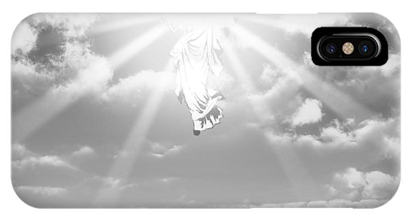 Worship iPhone Case - The Ascension And Resurrection by Allan Swart