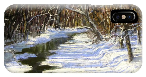 The Assabet River In Winter IPhone Case
