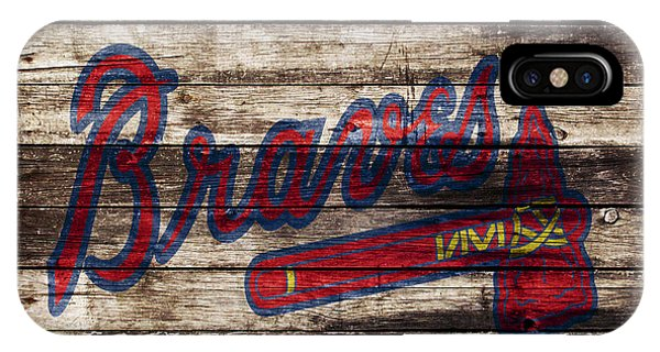 Grapefruit League iPhone Case - The Atlanta Braves 1w by Brian Reaves