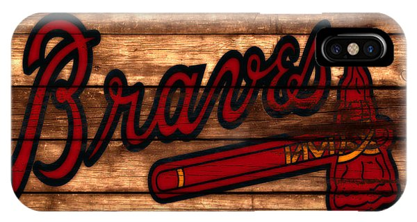 Grapefruit League iPhone Case - The Atlanta Braves 3a     by Brian Reaves