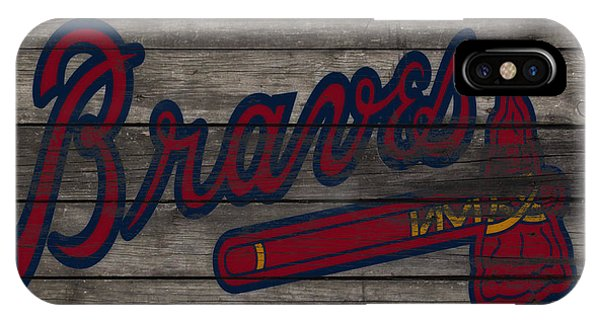 Grapefruit League iPhone Case - The Atlanta Braves 3e     by Brian Reaves