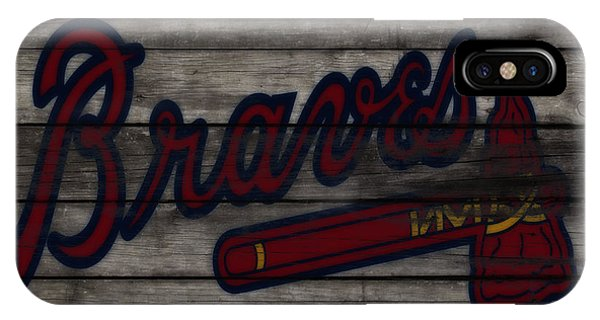 Grapefruit League iPhone Case - The Atlanta Braves 3f    by Brian Reaves