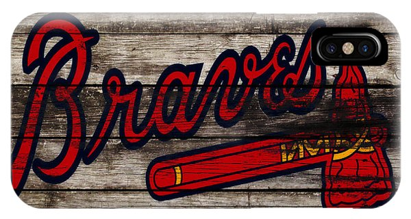 Grapefruit League iPhone Case - The Atlanta Braves 3h    by Brian Reaves