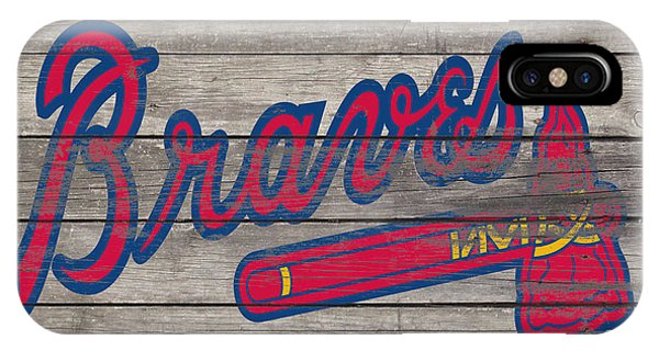 Grapefruit League iPhone Case - The Atlanta Braves 3i     by Brian Reaves