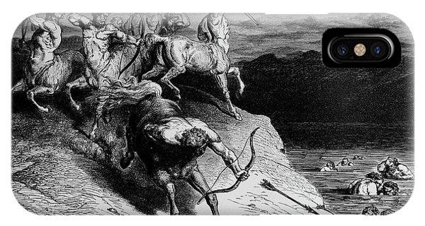 Centaur iPhone Case - The Attack Of The Centaurs by Douglas Barnett