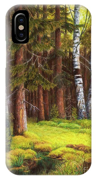The Autumn Is Coming IPhone Case