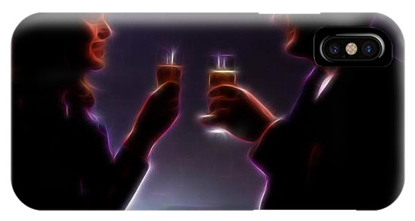 Toasting The Avengers IPhone Case