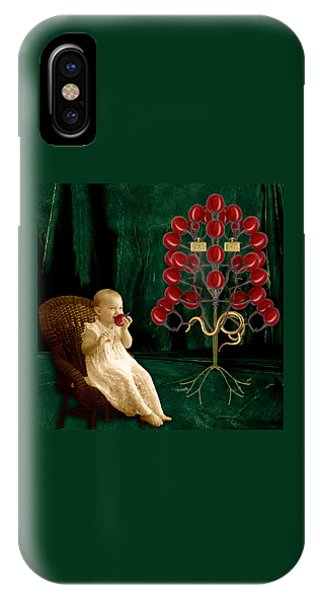 Good Humor iPhone Case - The Baby's Dream by Darlene Olivo