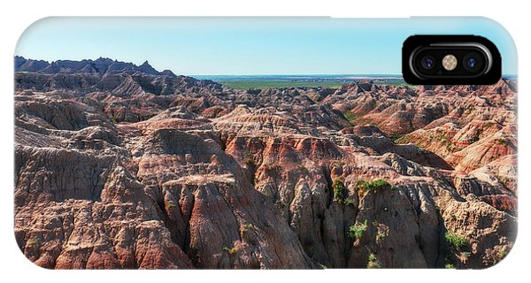 IPhone Case featuring the photograph The Badlands by Sharon Seaward