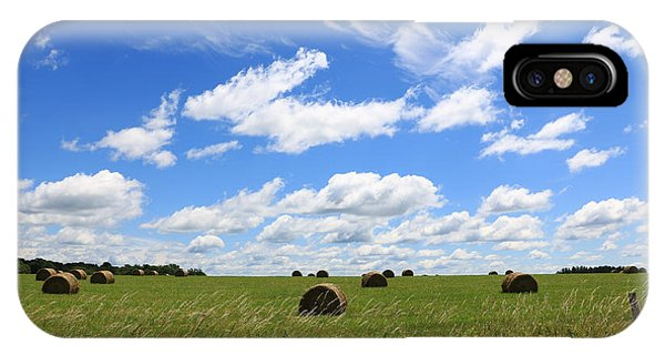 IPhone Case featuring the photograph The Bales Of Summer 3 by Rick Morgan