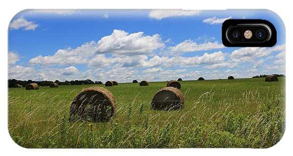 The Bales Of Summer IPhone Case