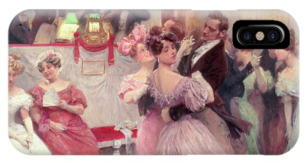 19th Century iPhone Case - The Ball by Charles Wilda