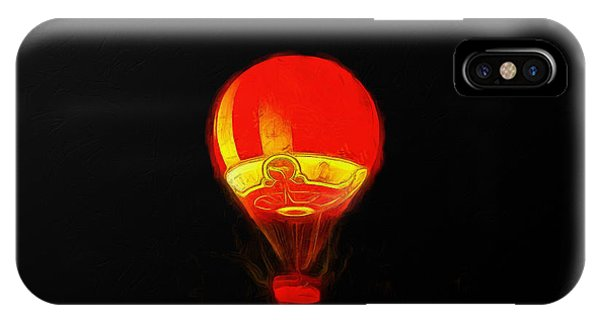 The Balloon At Night - Pa IPhone Case
