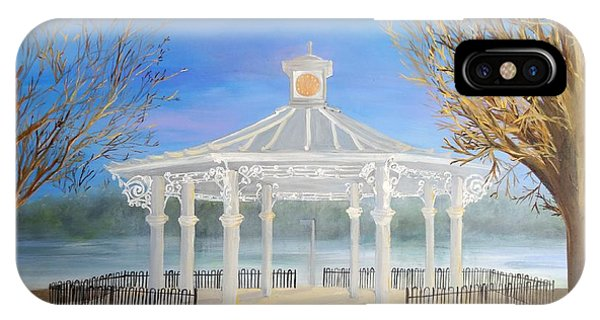 The Bandstand Basingstoke War Memorial Park IPhone Case