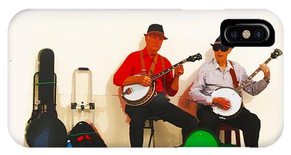 The Banjo Dudes IPhone Case