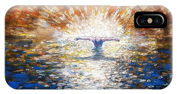 The Baptism Of The Christ II IPhone Case