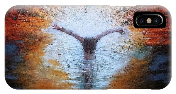 The Baptism Of The Christ With Dove IPhone Case