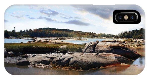 The Basin, Vinalhaven, Maine IPhone Case