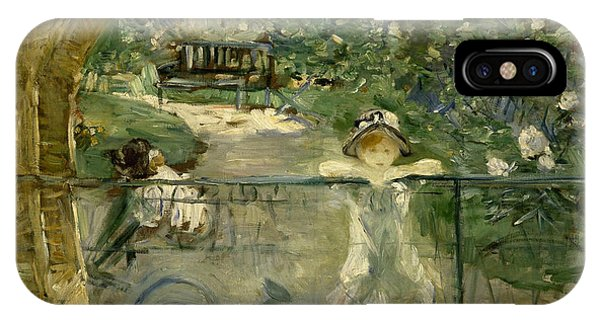 French Painter iPhone Case - The Basket Chair by Berthe Morisot