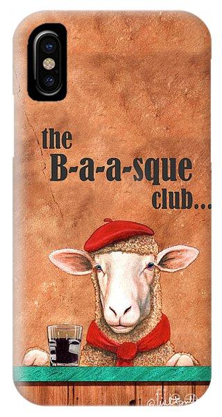 the Basque Club IPhone Case