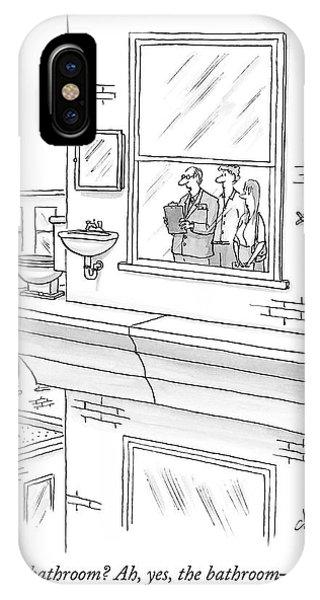The Bathroom IPhone Case