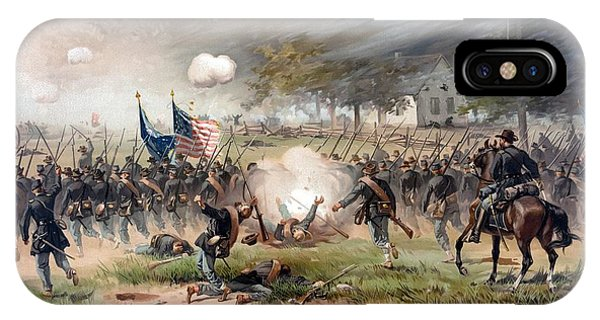 The Battle Of Antietam IPhone Case