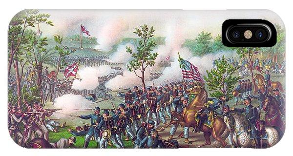 Allison iPhone Case - The Battle Of Atlanta, by American School