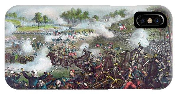 Allison iPhone Case - The Battle Of Bull Run by American School