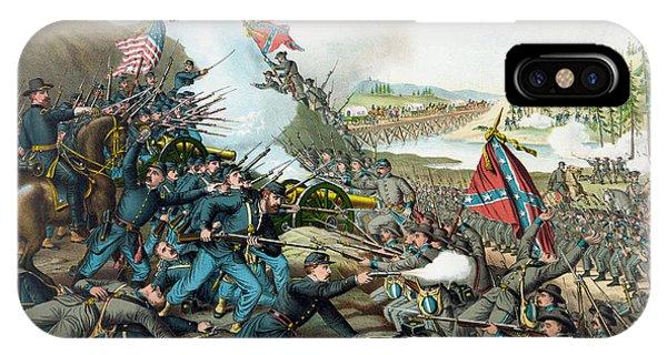 The Battle Of Franklin - Civil War IPhone Case