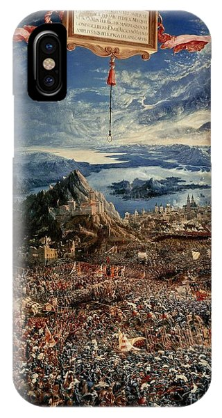 The Battle Of Issus IPhone Case