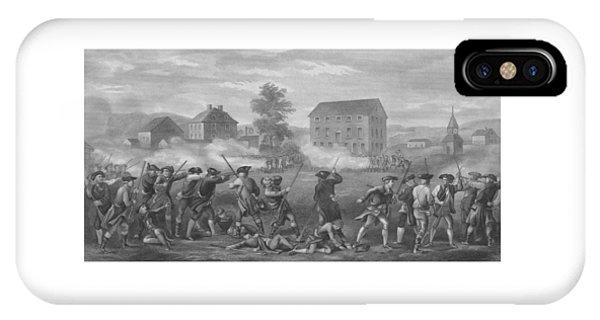 The Battle Of Lexington IPhone Case
